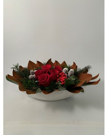 Holiday Modern Centerpiece Centerpiece