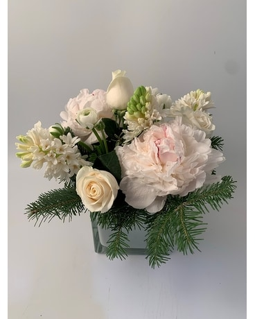 Winter White Flower Arrangement