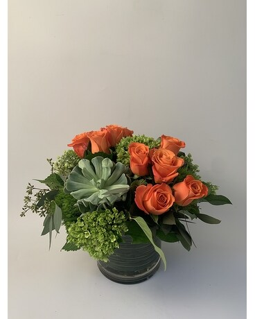 Mother's Day Garden Flower Arrangement
