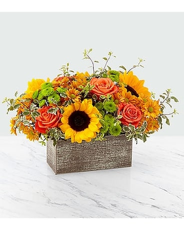 Garden Gathered Flower Arrangement