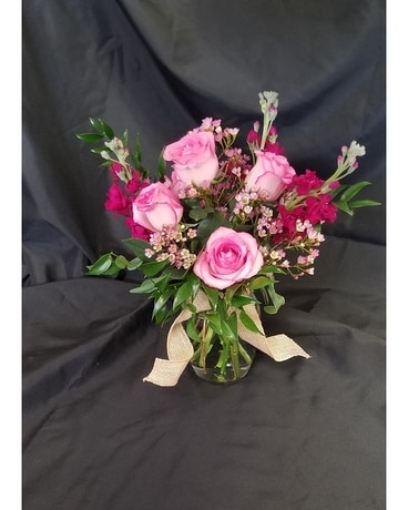Pretty Pinks Flower Arrangement