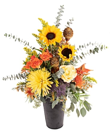 Awesome Autumn Arrangement Flower Arrangement