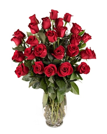 2 Dozen Premium Roses Flower Arrangement