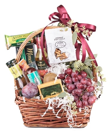Fruit & Snack Basket Gift Basket