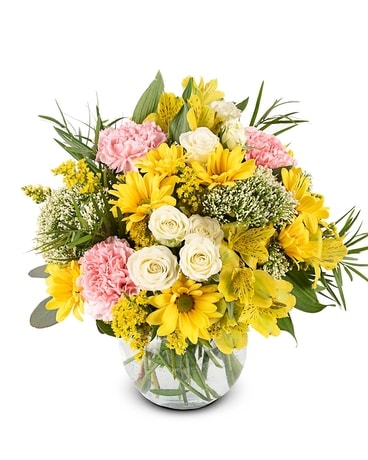 Sunny Celebration Flower Arrangement