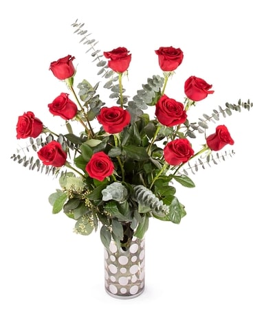 The Classic Dozen Premium Flower Arrangement