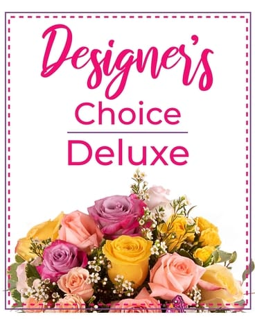 Designer's Choice Deluxe Flower Arrangement