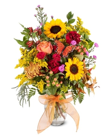 Sunburst Bouquet Flower Arrangement
