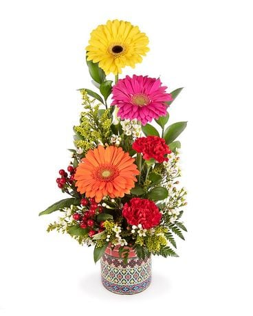 Cute and Colorful Bouquet Flower Arrangement
