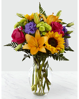 THE FTD® BEST DAY™ BOUQUET Flower Arrangement