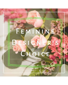 Designers Choice - Soft & Feminine Flower Arrangement