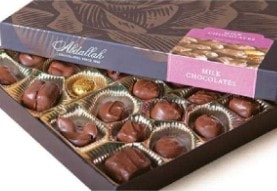 Box of Abdallah Assorted Milk Chocolates