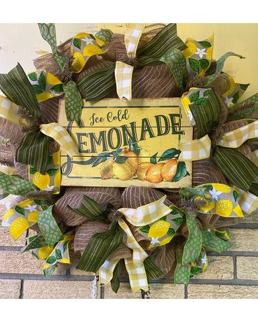 Lemonade Silk Wreath Wreath