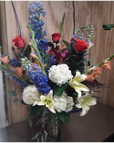 All American Flower Arrangement
