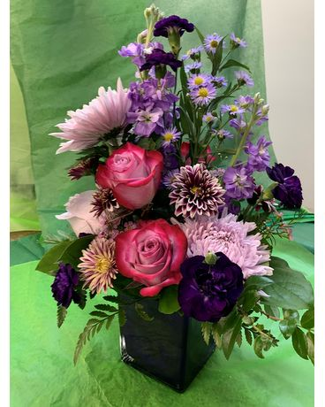 Pop of Pink Flower Arrangement