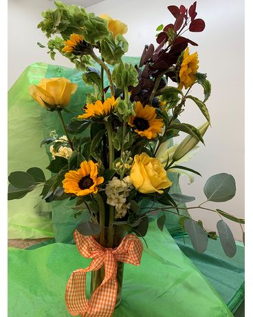 Sunflower Power Flower Arrangement