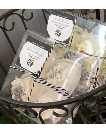 Natural 4 Pack Truffle Bath Experience Gifts