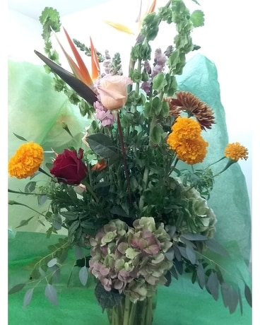 Fall Paradise Flower Arrangement