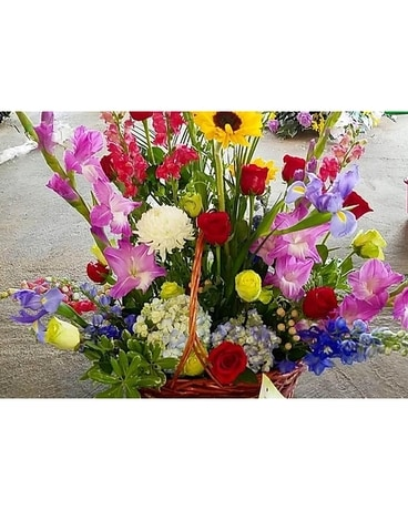 Brighten Your Day Sympathy Arrangement