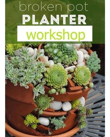 Broken Planter Workshop