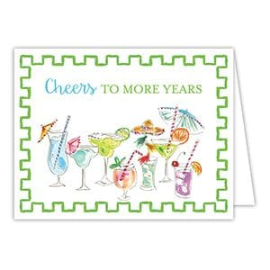 Cheers to More Years! birthday card