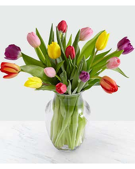 Tulip Medley Flower Arrangement