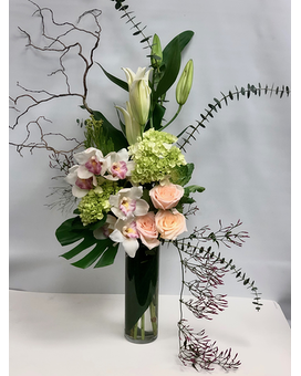 Tropical Nouveau Flower Arrangement