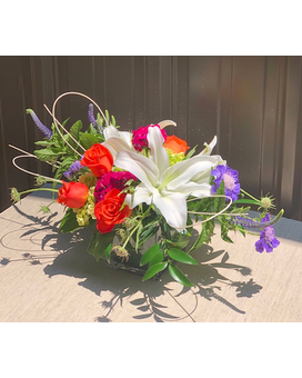 Chic Blossoms Flower Arrangement