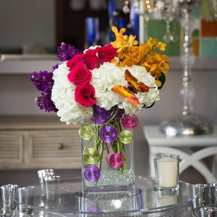 Follow the Rainbow Flower Arrangement