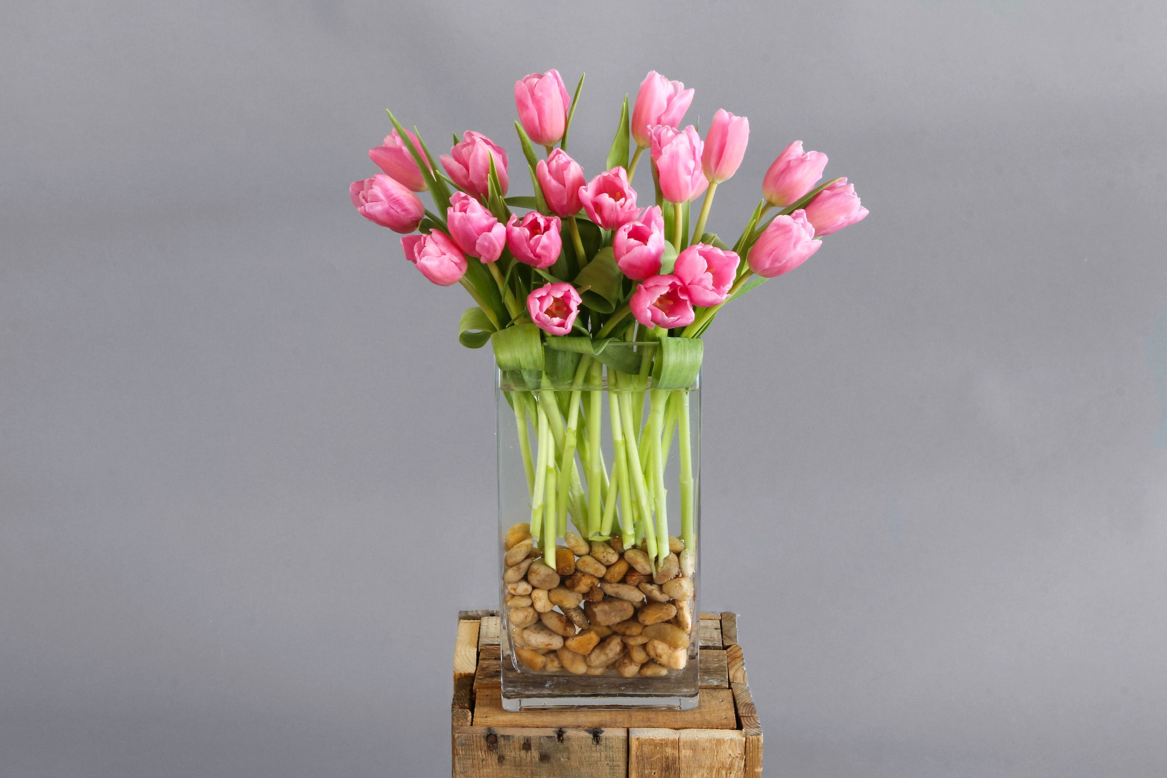 Riverside Tulips Flower Arrangement