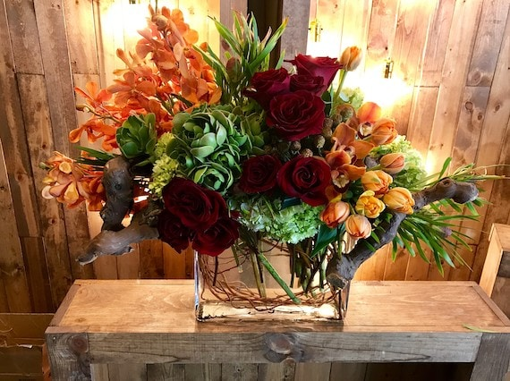 Burning Desire Flower Arrangement
