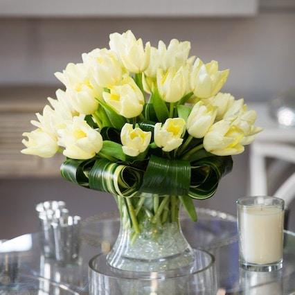 Plentiful Tulips Flower Arrangement