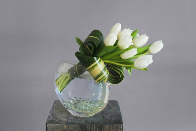 Bunch of Tulips Flower Arrangement