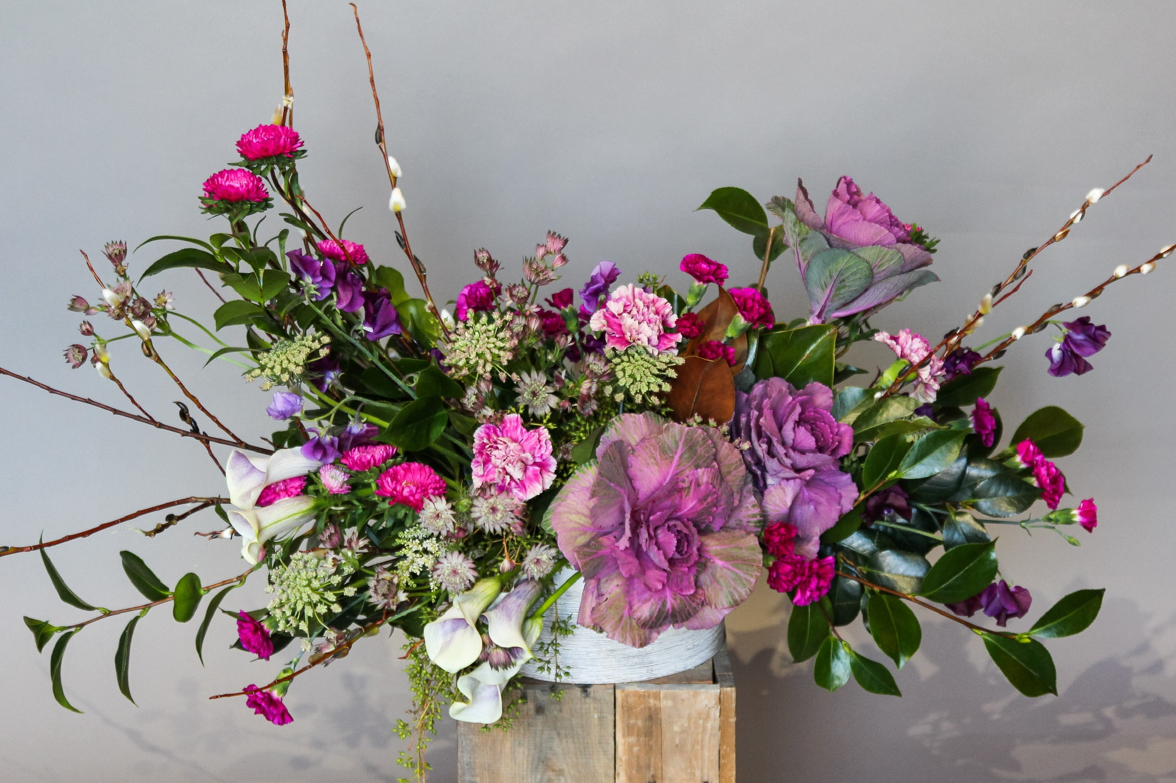 The Romantic Era Flower Arrangement