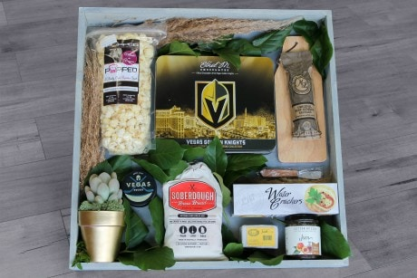 GO KNIGHTS Gift Crate Flower Arrangement