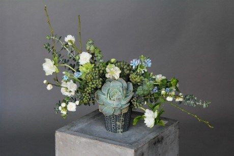 Blue Kush Flower Arrangement