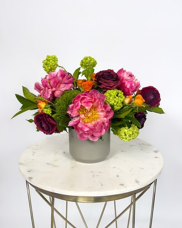 Coral Charm Flower Arrangement