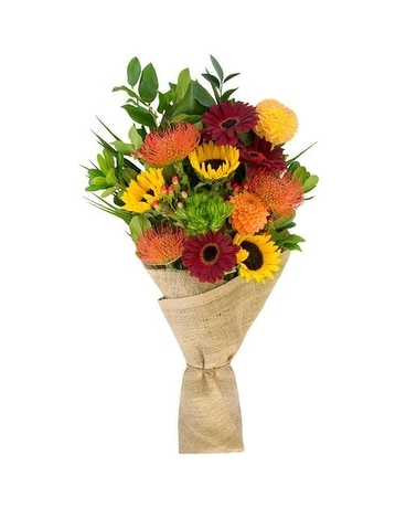 Citrus Circus Flower Arrangement