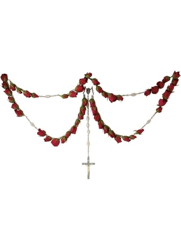 Rosary Flower Arrangement