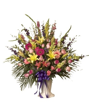 Tranquility Flower Arrangement