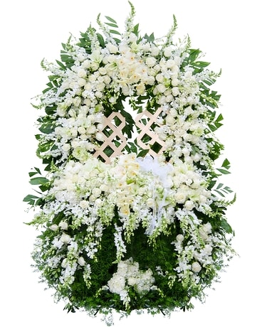 Gates of Heaven Flower Arrangement