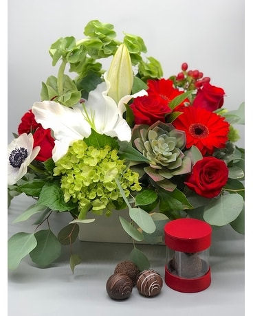 Love Garden & Truffles Flower Arrangement