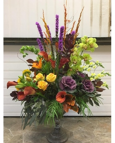 Bold and Beautiful Flower Arrangement
