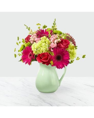 Sweet as Watermelon Flower Arrangement