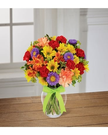 THE FTD® LIGHT AND LOVELY™ BOUQUET Flower Arrangement
