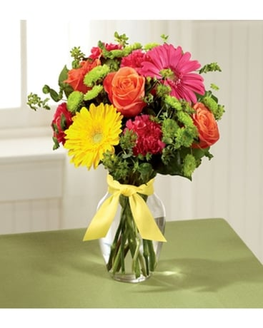 THE FTD® BRIGHT DAYS AHEAD™ BOUQUET Flower Arrangement