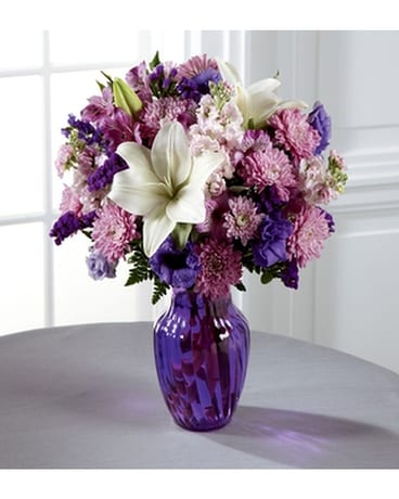 THE FTD® SHADES OF PURPLE™ BOUQUET Flower Arrangement
