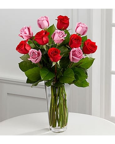 THE FTD® TRUE ROMANCE™ ROSE BOUQUET Flower Arrangement