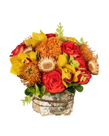 FALL BIRCH Flower Arrangement