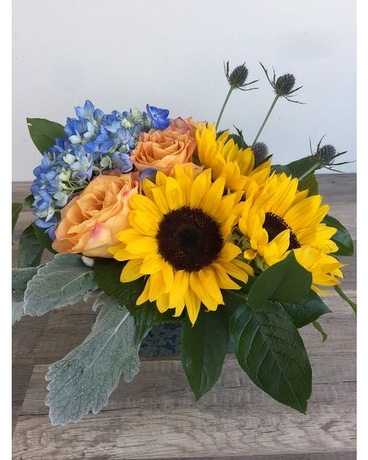 Sunshine in the Garden Flower Arrangement